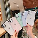 povoljno iPhone maske-Θήκη Za Apple iPhone 11 / iPhone 11 Pro / iPhone 11 Pro Max Protiv prašine / Translucent Stražnja maska Jednobojni TPU