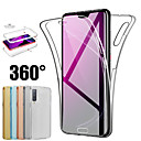 cheap Huawei Case-Case for HUAWEI P SMART PLUS 2019/P SMART 2019/MATE 20 PRO/MATE P20 LITE/ MATE20/P30PRO/P30LITE/P30/P20PRO/P20LITE/P20/P10REO/P10LITE/P10 Ultra-thin Full Body Cases Solid Colored Soft TPU Case