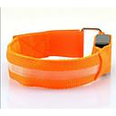 رخيصةأون ساعات ذكية-LEDحزام يد للركض حزام عاكس أضواء السلامة LED عاكس إلى أخضر ركض-