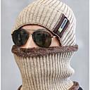 رخيصةأون اكسسوارات الشتاء-أسود أزرق البحرية رمادي قبعة التزلج لون سادة رجالي بوليستر,أساسي