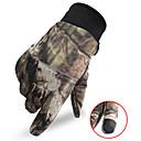 povoljno Odjeća za lov-Muškarci Lovačke rukavice Ugrijati Touch Screen Otpornost na habanje kamuflaža Proljeće Jesen Zima Najlon Camping & planinarenje Lov Ribolov Penjanje