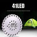 ieftine Lanterne & Lumină Cort-Felinare & lumini pentru cort Becuri LED LED 41 emițători 3 Mod Zbor Portabil Ușor de Purtat Ușor Camping / Cățărare / Speologie Albastru gheață Culoare sursă lumină Argintiu / negru
