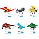 ieftine Ustensile & Gadget-uri de Copt-SHIBIAO Lego Blocuri militare Seturi de jucării pentru construcții 301 pcs Animal Animal Soldat compatibil Legoing Insectă Băieți Fete Jucarii Cadou / Jucării Educaționale