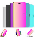 cheap Table Top-Case For Apple iPhone 11 / iPhone 11 Pro / iPhone 11 Pro Max Wallet / with Stand / Mirror Full Body Cases Color Gradient / Solid Colored PU Leather