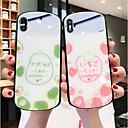 voordelige iPhone-hoesjes-hoesje Voor Apple iPhone 11 / iPhone 11 Pro / iPhone 11 Pro Max Spiegel Achterkant Voedsel Gehard glas