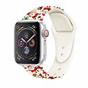 ieftine Inele-bandă de ceasuri pentru mere seria de ceasuri 5/4/3/2/1 banda sport sport / cataramă clasică curea de încheietura din silicon stil Crăciun