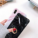 voordelige iPhone-hoesjes-hoesje voor Apple iPhone 8 Plus / iPhone XR schokbestendig / ringhouder Full body hoes marmer zachte silicagel voor iPhone XR / iPhone 8 Plus / Xs / Xsmax / 8/7 / 7plus / 6plus / 6splus / 6 / 6s