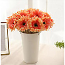 رخيصةأون أزهار اصطناعية-الزهور الاصطناعية 6 فرع الكلاسيكية الحديثة المعاصرة الإقحوانات أسلوب بسيط