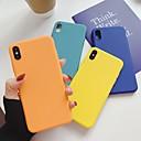 رخيصةأون خواتم-غطاء من أجل Apple اي فون 11 / iPhone 11 Pro / iPhone 11 Pro Max نحيف جداً غطاء خلفي لون سادة TPU
