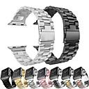 tanie Opaski do Apple Watch-metalowa bransoleta ze stali nierdzewnej do zegarka Apple seria 5/4/3/2/1 wymienna bransoletka pasek na rękę opaska na rękę