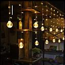 povoljno LED svjetla u traci-2.5m vodio kuglu za okrugle kuglice led svjetla božićne vjenčane zavjese ukrasna svjetla unutarnja bajkovita svjetlost
