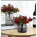 رخيصةأون تزيين المنزل-الزهور الاصطناعية 6 فرع الدعائم الكلاسيكية مرحلة الفاكهة الحديثة