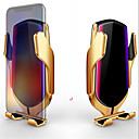 voordelige iPhone 7 Plus hoesjes-Nieuwe r1 slimme sensor autotelefoonhouder snel opladen draadloze opladers universele autotelefoonhouder voor iPhone voor Samsung voor Huawei