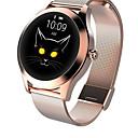 abordables Pulseras inteligentes-kw10 reloj inteligente bt fitness tracker soporte notificar&monitor de frecuencia cardíaca deportivo smartwatch compatible con teléfonos samsung / apple / android