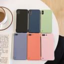 tanie Folie ochronne do Samsunga-Kılıf Na Jabłko iPhone 11 / iPhone 11 Pro / iPhone 11 Pro Max Odporny na wstrząsy Osłona tylna Solidne kolory TPU