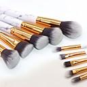 ieftine Produse Fard-Profesional Machiaj perii Seturi perie 10pcs Ecologic Profesional Moale Păr sintetic Marmură / Granit / Plastic Pensule de Machiaj pentru Pensulă Blush Perie  Fard Set Pensule Machiaj Perie Pudră