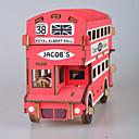 povoljno Naušnice-3D puzzle Drvene puzzle Építőjátékok Moda Kuća Autobus New Design Uradi sam 1 pcs Klasik Moda Dječji Odrasli Dječaci Djevojčice Igračke za kućne ljubimce Poklon / Drveni modeli