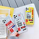 voordelige iPhone 6 Plus hoesjes-hoesje Voor Apple iPhone 11 / iPhone 11 Pro / iPhone 11 Pro Max Schokbestendig Achterkant Woord / tekst TPU