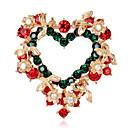 povoljno Broševi-Žene Broševi Geometrijski Srce Stilski Broš Jewelry Zlatan Za Dnevno Festival