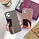 voordelige iPhone 6 Plus hoesjes-hoesje Voor Apple iPhone 11 / iPhone 11 Pro / iPhone 11 Pro Max Stofbestendig / Beplating / Spiegel Achterkant Effen TPU / Acryl
