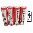 ieftine Frontale-UltraFire BRC Li-ion 18650 baterie 4200 mAh 4 buc 3.7 V Reîncărcabil pentru Lanternă Bike Light Lămpi de cap Vânătoare Alpinism Camping / Cățărare / Speologie