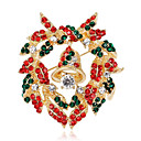 povoljno Broševi-Žene Kubični Zirconia Broševi Geometrijski Cvijet Stilski Broš Jewelry Zlatan Za Božić Dnevno