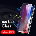 رخيصةأون واقيات شاشات أيفون XR-AppleScreen ProtectoriPhone X ضد الضوء الأزرق حامي شاشة أمامي 1 قطعة زجاج مقسي