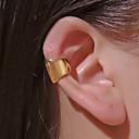 ieftine Cercei-Bărbați Pentru femei Cercei cu Clip Cătușe pentru urechi Clasic Mini cercei Bijuterii Auriu / Alb / Auriu Pentru Zilnic Bal Stradă Măr Festival