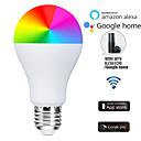 povoljno LED Smart žarulje-alexa voice wifi inteligentna rgb žarulja 7w kućna rasvjeta vodila aplikaciju daljinsko zatamnjenje kreativna žarulja