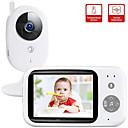 رخيصةأون كاميرات المراقبة IP-didseth اللاسلكية لون الفيديو مراقبة الطفل بال ntsc 352 × 240 ip كاميرا مع 3.2 بوصة lcd ir كاميرا 2 طريقة الصوت الحديث ليلة الرؤية مراقبة الأمن كاميرا