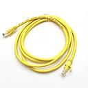 ieftine Cabluri Ethernet-3m galben de rețea externă de cablu ethernet cat5e 100% cupru rj45 mar24 de calitate superioară