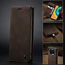 billige Etuier/covers til Huawei-Etui Til Huawei Kompis 30 / Mate 30 Pro Pung / Kortholder / Stødsikker Fuldt etui Ensfarvet PU Læder