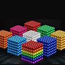 "povoljno MacBook Pro 13"" maske-216 pcs 5mm Magnetne igračke Magnetske kuglice Kocke za slaganje Snažni magneti Magnetska igračka Magnet Magnetska igračka Chic & Moderna Stres i anksioznost reljef Uredske stolne igračke Dječji"