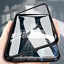 abordables Etuis / Couvertures pour Huawei-étui de téléphone portable tout compris pour téléphone portable en verre d'adsorption magnétique en métal pour huawei p20 / 30 p20plus p20por / 30por huawei mate10 / 20/30 por flip bouton magnétique