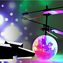 ieftine Elicoptere RC-RC elicopter Hovering Angel 2ch Planare / Telecomandă Telecomandă / Zboară Printesa Zână / Lumina curcubeului