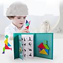 povoljno Ukrasne figurice-Tangram Kocke za slaganje Puzzle S magnetom Dječji Uniseks Dječaci Djevojčice Igračke za kućne ljubimce Poklon / Drvene puzzle