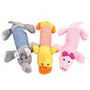 ieftine Jucării Câini-Jucării pluș Pisici Câine Animale de Companie  Jucarii Desene Animate Țipăt ascuțit Pluș Cadou