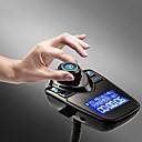 ieftine Kit Bluetooth Mașină/Mâini-libere-Transmisie t10 fm Bluetooth kit handsfree auto mp3 mp3 music player adaptor radio cu telecomanda pentru iPhone / Samsung lg smartphone