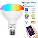povoljno LED Smart žarulje-Wifi br30 led žarulja poplava e26 e27 b22 pametna rgbw bežična bežična žarulja 9W LED žarulja kompatibilna s alexa& google home ass