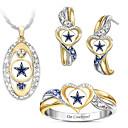 povoljno Komplet nakita-Žene Kubični Zirconia Svadbeni nakit Setovi Geometrijski Srce Stilski Naušnice Jewelry Duga Za Party Dar 1set