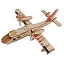 povoljno 3D zagonetke-3D puzzle / Puzzle / Drveni modeli Letjelica / Borac / Poznata zgrada Uradi sam drven Klasik Dječji Uniseks Poklon