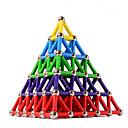 ieftine Jucării cu Magnet-84 pcs 5mm Jucării Magnet Bloc magnetic Magnetice magnetice Placi magnetice Lego Jucării Educaționale Plastic Magnet Magnetic Piramidă Pentru copii / Adulți Unisex Băieți Fete Jucarii Cadou