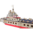 ieftine Ustensile & Gadget-uri de Copt-Puzzle 3D / Puzzle Metal Militar / Navă de luptă Metalic / Teak 1 pcs Barcă Pentru copii / Adulți Cadou