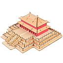 رخيصةأون البناء و المكعبات-قطع تركيب3D تركيب بناء مشهور اصنع بنفسك خشب الخشب الطبيعي استايل صيني للأطفال للجنسين هدية