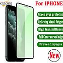 povoljno iPhone maske-zeleno kaljeno staklo za iphone xr x 8 7 6 6s plus zaštitnik cijelog zaslona za iphone 11 pro xs max zaštitne naočale za oči