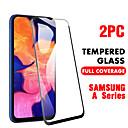Недорогие Защитные плёнки для экранов Samsung-SamsungScreen ProtectorSamsung Galaxy A20 (2019) HD Защитная пленка для экрана 2 штs Закаленное стекло