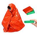 povoljno Kamp spavanje-Hitna Blanket Vreća za spavanje za nuždu Vanjski Kampiranje Ugrijati Ultraviolet Resistant Gust Camping & planinarenje Outdoor za žuta Zelen