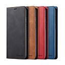 economico Custodie / cover per Xiaomi-Custodia Per Xiaomi Redmi Note 8 / Redmi Note 8 Pro Porta-carte di credito / Resistente agli urti Integrale Tinta unita pelle sintetica