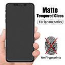 economico Custodie per iPhone-Pellicola temperata opaca anti-impronta 9d per iphone11 pro max pellicola temperata opaca iphonex / xs xr xsmax iphone6 / 6s 7/8 plus