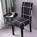 halpa Irtopäälliset-tuolipeite geometriset painetut polyesteripölykannet